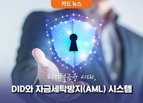 [카드 뉴스] 디지털금융 시대, 자금세탁방지(AML) 시스템